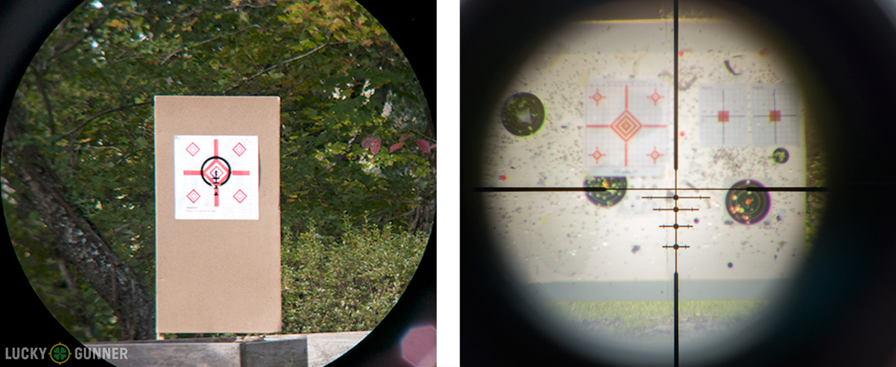 BDC reticle comparison