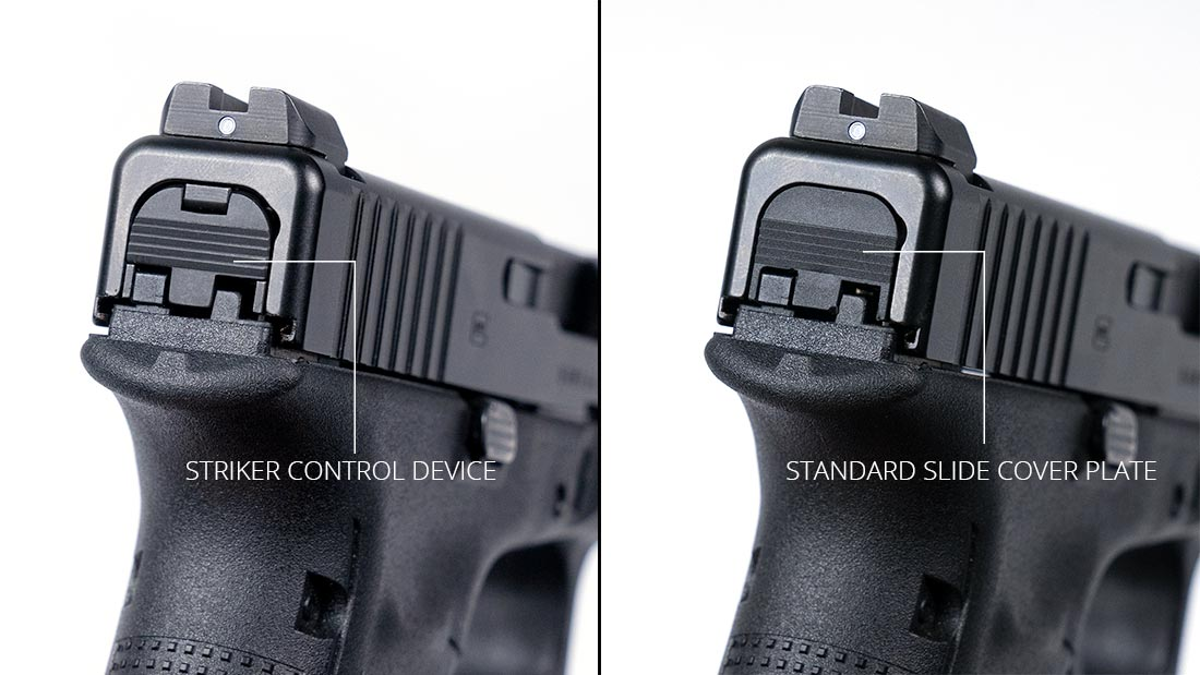 the glock gadget striker control device for pistols