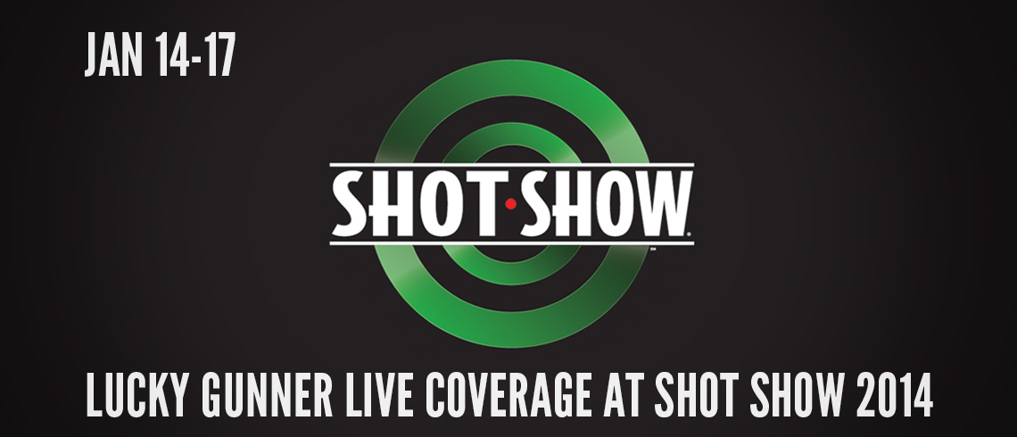 Lucky Gunner at SHOT Show 2014