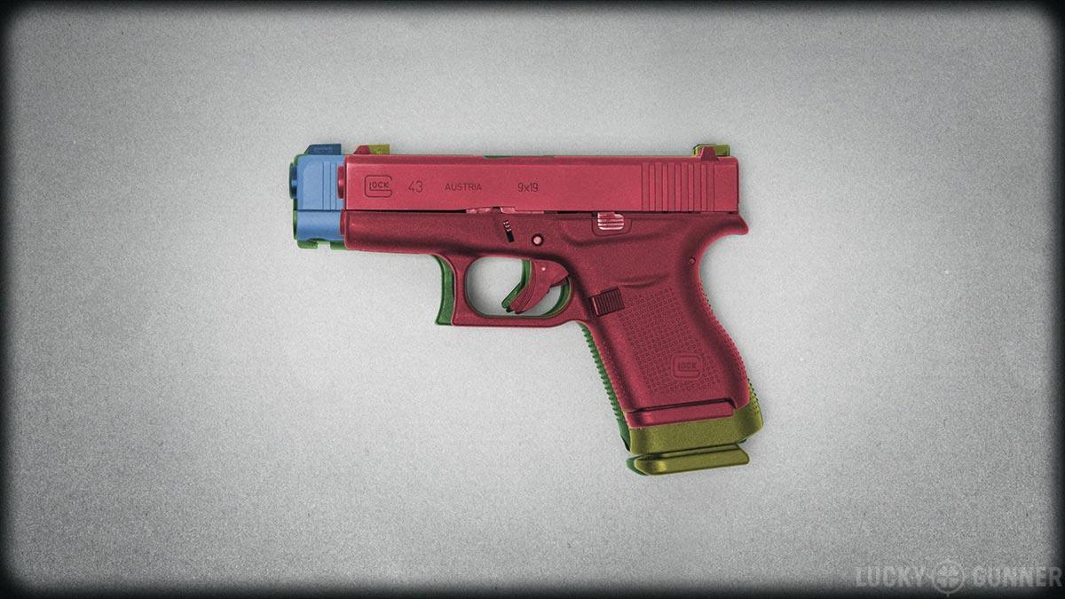 Glock 43 size comparison