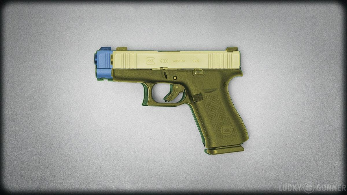 Glock 43X size comparison