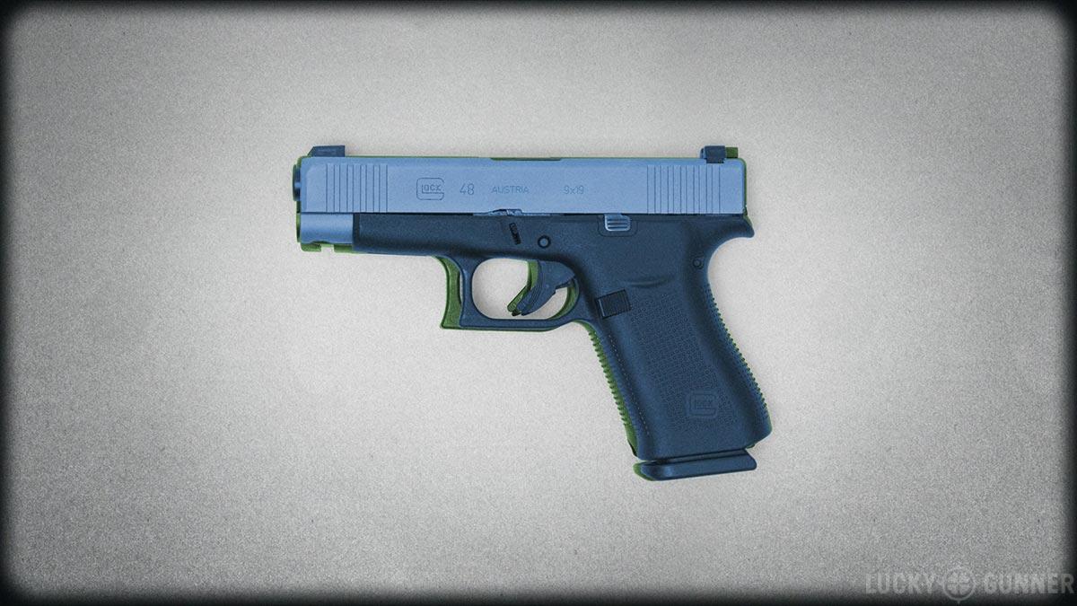 Glock 48 and 19 size comparison