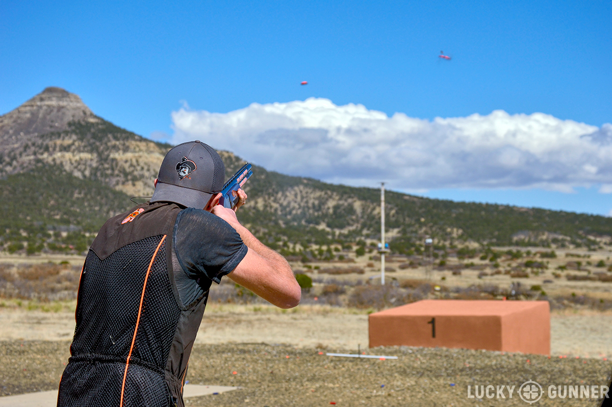 Skeet incorporates simultaneous pairs of targets which are an exciting challenge for many shooters, but often overwhelm those new to the game.