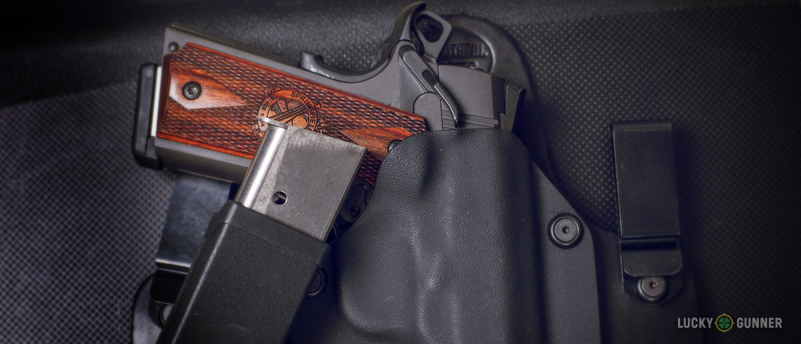 Springfield 1911 and spare magazine