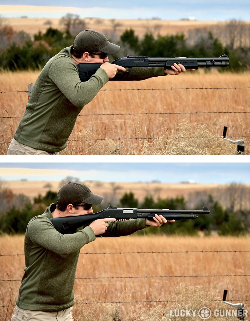 Magpul SGA shotgun stance