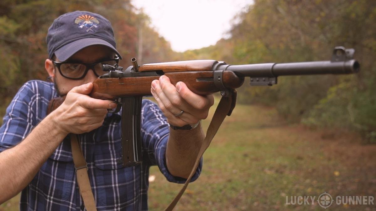M1 Carbine stovepipe failure
