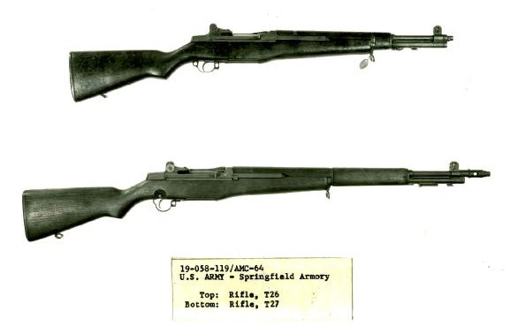 T26 and T27 Garand