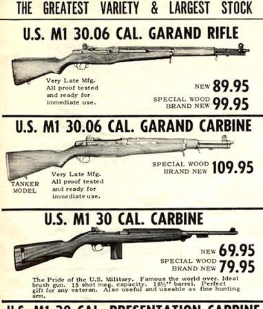 M1 Garand Tanker Ad