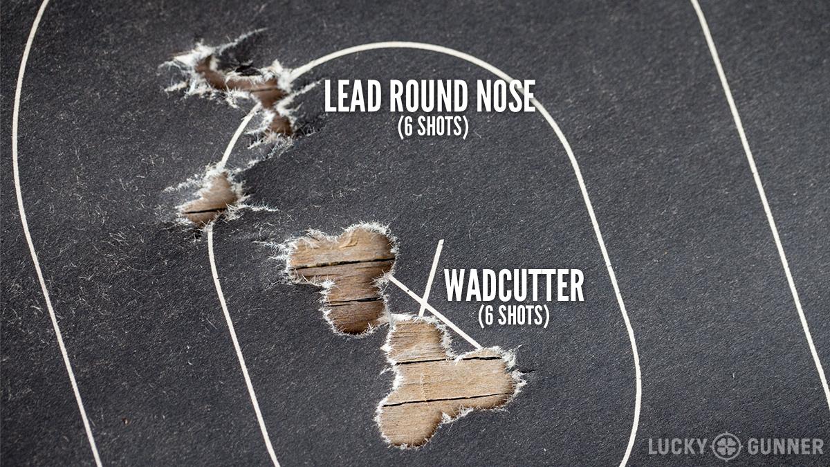 wadcutter-target