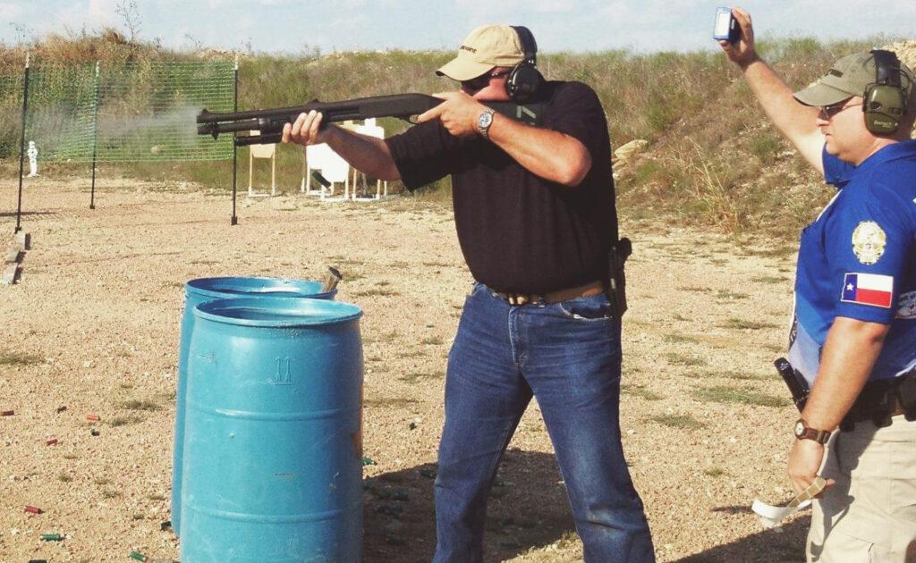 Wayne Dobbs shotgun
